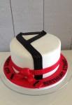 Taekwando Cake 8 inch