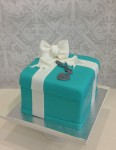 Tiffany & Co Cake with Bracelet