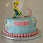 Tinkerbelle Teal & Pink with Edible image