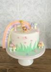 Tinkerbell Rainbow Cake