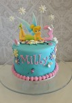 Tinkerbell Pink & Teal  8 inch
