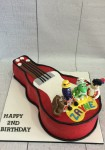 Wiggles Guitar Cake 2