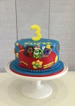 Wiggles Rocket Cake  7 inch
