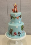 Woodlands Themed Cake