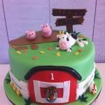 Farmyard Theme Cake 10 inch