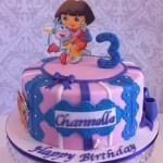 Dora, Boots & Swiper  8 inch Cake