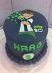 Ben 10 2D Cake 5 inch
