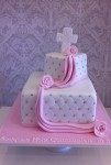Quilted with Draping  4 inch on 8 inch