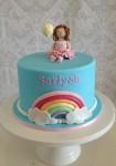 Rainbow Cake & Figurine Cake