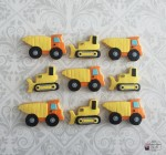 Construction Dump Truck Cookies