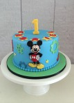 Mickey Mouse Steam Punk Cake