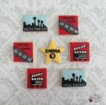 Hollywood Movie themed Cookies