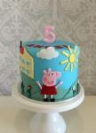 Peppa Pig & house Cake