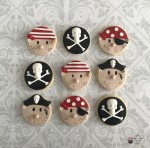 Pirate Head Cookies
