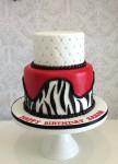 Red Zebra Cake