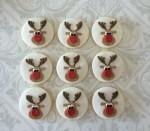 Rudolf Reindeer Cookies