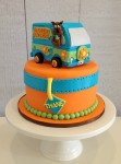 Scooby Doo & The Mystery Machine Cake