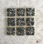 Silver & Black Lace Cookies
