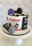 Singing Theme Cake