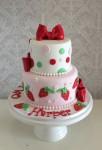 Strawberry Shortcake Cake