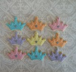 Pastel Crown Cookies