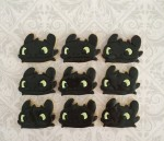Toothless Dragon Cookies