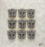 Transformers Autobot Cookies
