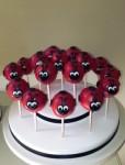 Lady Bug Cake pops
