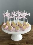 Gold Star Cake Pops