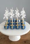 Navy & Gold Cake Pops