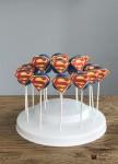 Superman Cake Pops